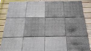 12 aslon rubber tiles 400mm patio