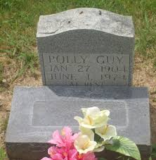 Polly Patterson Guy (1904-1974) - Find A Grave Memorial