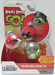TAS033680) - 2013 Rovio Angry Birds Go! Action Toys - Big Red Bird ...