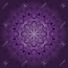 Tarjeta De Mandala En Colores Morados Para Fondos Invitaciones