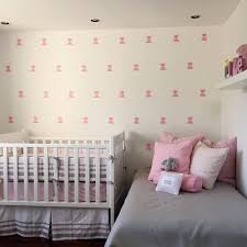 Mini Tulips Flower Decals Nursery Decorations Girls Room