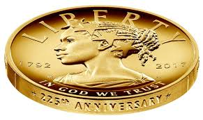 the coin gold its real value lady
