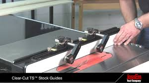 Clear Cut Ts Stock Guides For A Table Saw Youtube