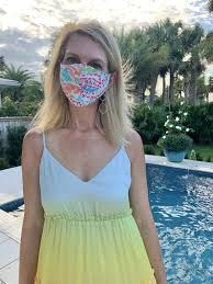 Lilly Pulitzer Mask – Lolo Headbands ...
