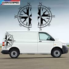 Both Side Car Stickers For Volkswagen Bus T4 T5 T6 Compass Left Right Side Auto Body Vinyl Decals Xxl Decal Sticker Car Stickers Aliexpress