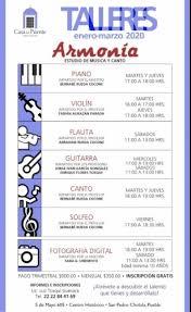 TP: Talleres Enero-Marzo 2020 en Casa del Puente - en Puebla -  TODOPUEBLA.com