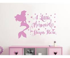 Little Mermaid Wall Decal Wayfair