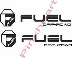 Fuel Off Road Sticker Decal Decals 2 Fuel Wheel Wheels Usa Made Octagon 20 X 5 Ebay