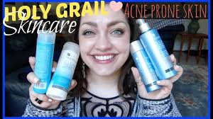 acne clearing skincare