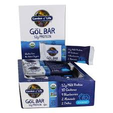 garden of life gol protein bar box