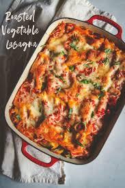 summer roasted vegetable lasagna sweetphi