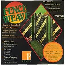 Upc 083895125027 Pexco 10 In X 2 In Green Chain Link Fence Privacy Weave Upcitemdb Com