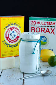homemade laundry detergent all natural