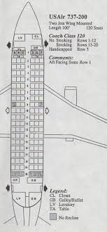 vine airline seat map usair boeing
