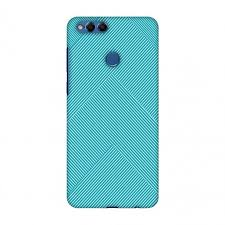 Huawei Honor 7x Case Premium Handcrafted Printed Designer Hard Snap On Shell Case Back Cover With Screen Cleaning Kit For Huawei Honor 7x Carbon Fibre Redux Aqua Blue 4 Walmart Com