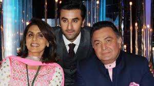 Did Neetu Kapoor hint at Rishi Kapoor suffering from cancer ...
