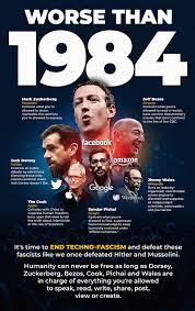 End Techno-Fascism - conspiracy