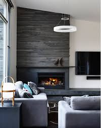 fireplace tv dark tiles and hearth