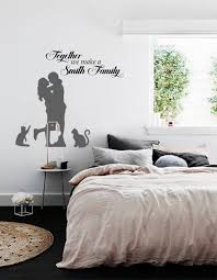 Family Name Wall Decal Family Quote Decal Dining Room Vinyl Decal Home Wall Stickers Love Decal Cats Decal Family Gifts Vinyl Decal Wall Stickers Dining Room Wall Decals For Bedroom Name