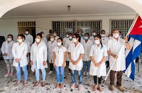 Coronavirus : 348 médecins et infirmiers cubains à l'œuvre en ...