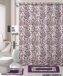 18 piece bath rug set lavender purple