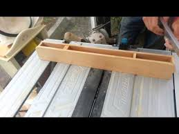 How To Make A Biesemeyer Type Fence Makita Mlt 100 Table Saw Rip Fence Upgrade Youtube
