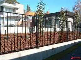 Standrite Tubular Steel Fencing Hamilton Style Naturalfenceideas Backyard Fences Fence Landscaping Modern Fence