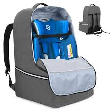car seat travel bag backpack organizer