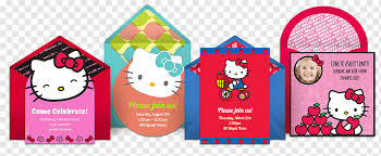 o kitty wedding invitation