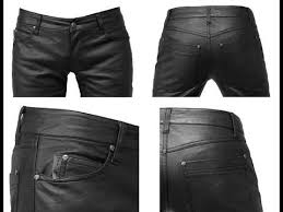 mens leather pants skinny you