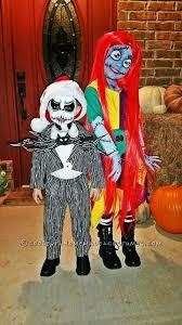 jack skellington child s couple costume