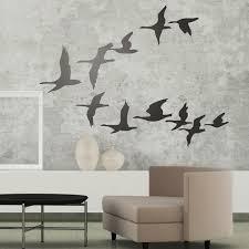 Wall Sticker Flock Of Pelicans Muraldecal Com