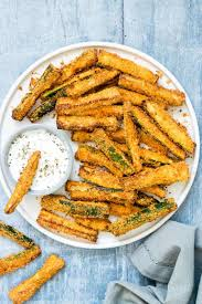 air fryer zucchini fries low carb