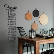 Family Quote Wall Art Sticker Peel Stick Family Quote Wall Decals