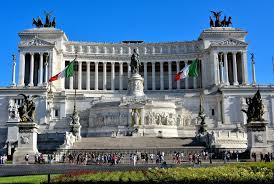 Altare della Patria Frontal View in Rome, Italy - Encircle Photos