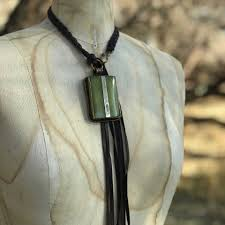 layer a 502 necklace silver sage
