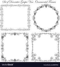 gs vine royalty free vector image