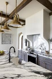 gray wash kitchen cabinets with dark