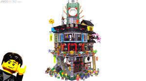 LEGO Ninjago City build & review videos 70620