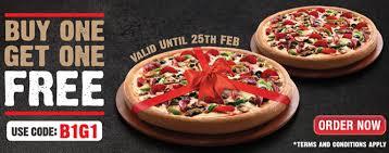 pizza hut till february 25