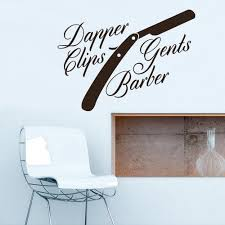 Wall Vinyl Decal Sticker Decals Haircut Salon Hairdresser Barber Shop Stickersforlife