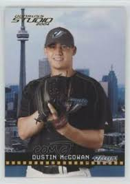 2004 Donruss Studio #196 Dustin McGowan Toronto Blue Jays Baseball ...