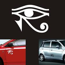 Eye Of Ra Horus Egyptian God Vinyl Decal Car Sticker Wish