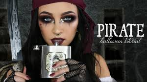 pirate halloween makeup tutorial glam