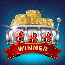 Slot Machine Banner Vector ชนะแจ็คพอตในเกมสล็อตโบรชัวร์โบรชัวร์ชนะ ...