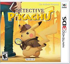 Amazon.com: Detective Pikachu - Nintendo 3DS: Nintendo of America ...