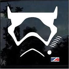 Star Wars First Order Trooper Window Decal Sticker Custom Sticker Shop