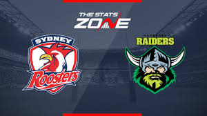 Sydney Roosters vs Canberra Raiders ...