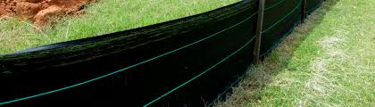 Silt Fence Erosion Control At Construction Site Ced Technologies Inc
