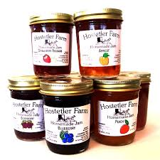hostetler farm jam jelly 8oz